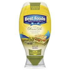 Best Foods 1 ct Olive Oil Mayonnaise Dressing Squeez 20 oz