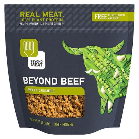 Beyond Meat 8 pack, Crumbles, Beefy, 10 oz