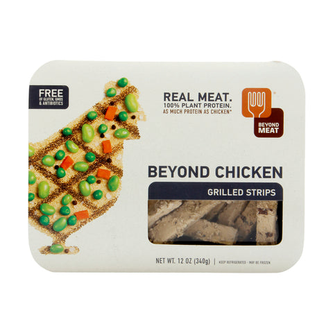 Beyond Meat 6 pack, Meat Free, Chicken, Grilled Strips 9 oz