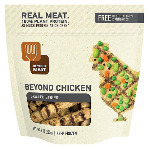 Beyond Meat 4 pack, Meat Free, Chicken Free, Strips, Gluten Free, 5 lb.