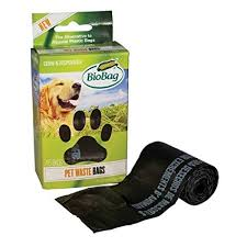 Biobag, 12 pack case, Dog Waste Bags on a Roll, 45 Bags ea.
