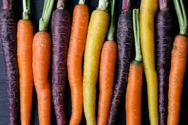 Carrots Mixed Color 3 lb Fresh
