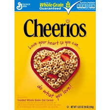 General Mills 2 pack Cheerios Gluten-free Cereal 20.35 oz