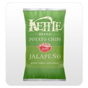 Chips Kettle 24 pack case Potato Jalapeno 1.5 oz case