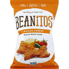 Beanitos 6 pack Chips Nacho Cheese White Bean 6 oz