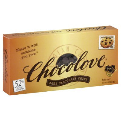 Chocolove 12 pack case Dark Chocolate Chips 11 oz