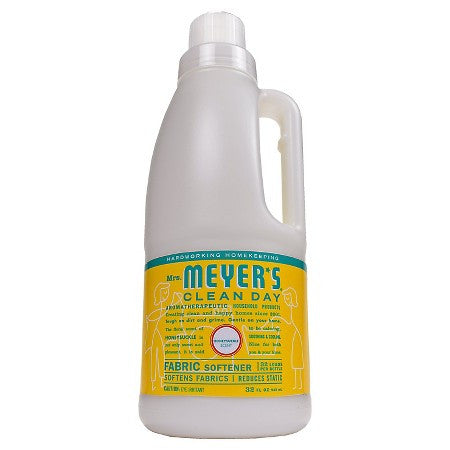 Mrs Meyers 6 pack case Clean Day , Fabric Softener, Honeysuckle 32 oz