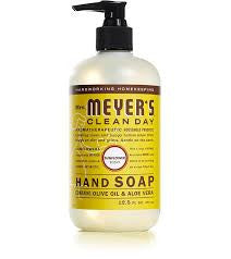 Mrs Meyers 6 pack case Clean Day , Liquid, Hand Soap Sunflower 12.5 oz
