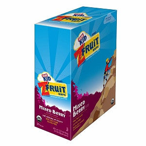 Clif Kid 18 pack case Twisted Fruit Organic Mixed Berry .7 oz
