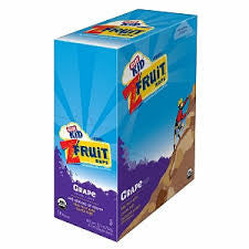 Clif Kid 18 pack case Twisted Fruit Organic Grape .7 oz