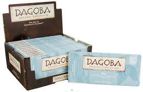Dagoba 12 pack Bars Milk Chocolate Organic Chai Tea, 37% 2 oz
