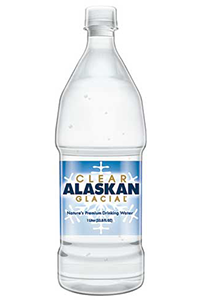 Alaskan, 12 pack, Clear Glacial Water, 1 LTR (33.8)