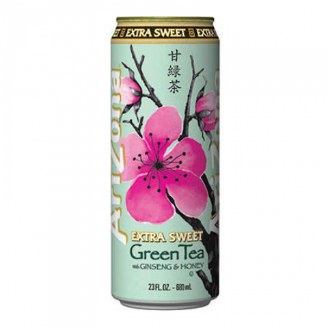 Arizona 24 pack Green Tea Extra Sweet 23.5 oz