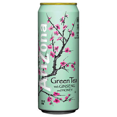 Arizona 24 pack Green Tea 23.5 oz
