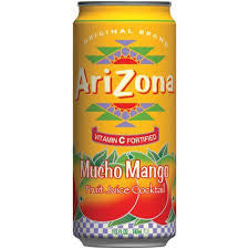 Arizona 24 pack Mucho Mango 23.5 oz