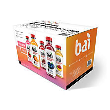 Bai 15 pack case Core Antioxidant Infusion Variety Pack 18 oz