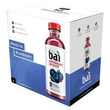 Bai 12 pack Brasilia Blueberry 18 oz