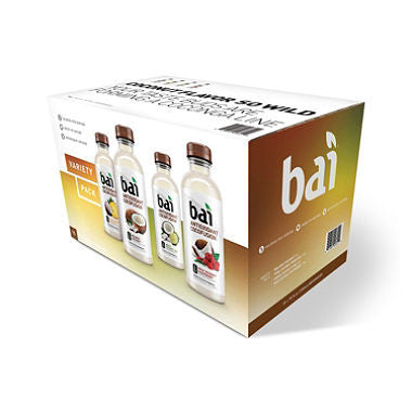 Bai 15 pack case Antioxidant Cocofusion Variety Pack 18 oz