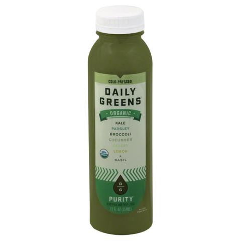 Daily Greens 6 pack, Juice, Purity 12 oz