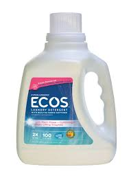 Ecos, Earth Friendly Products 4 pack, Hypoallergenic,ecos, Geranium 100 oz