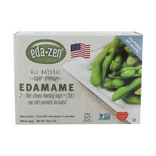 Eda Zen, 8 pack, Vegetables, Edamame Shelled, 2 Bags, Frozen, 16 oz