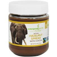 Endangered Species 6 pack case Chocolate Spread Hazelnut With Cocoa 9.7 oz