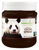 Endangered Species 6 pack case Chocolate Spread Cocoa 9.7 oz