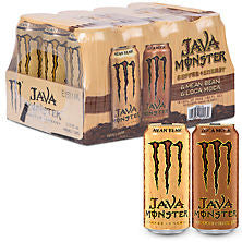 Monster 12 pack case Java Variety Pack 15 oz
