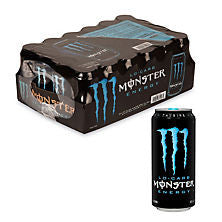 Monster 24 pack case Lo Carb Energy Drink 16 oz