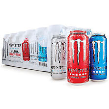 Monster 24 pack case Ultra Variety Pack 16 oz