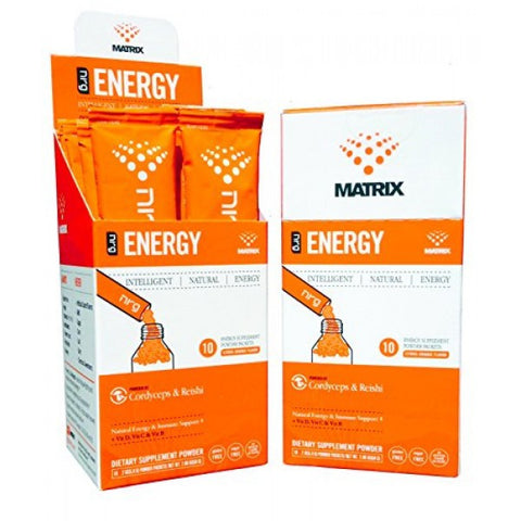Nrg Matrix 1 ct, Energy Drink Powder, 10 ea