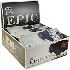Epic 12 pack Bar Bison Bacon Cranberry 1.5 oz