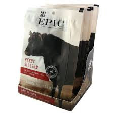 Epic Beef 6 pack Jerky Berry Blossom 2 oz box