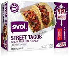 Evol Foods 8 pack Korean Style Beef & Kimchi 6 oz