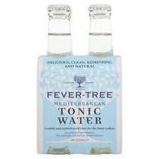 Fever-tree, 24 pack case, Soda Tonic Water, 6.8 oz