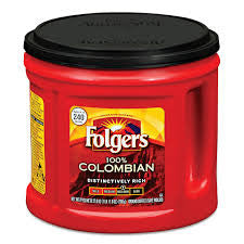 Folgers 1 ct 100% Colombian 27.8 oz (1 lb)