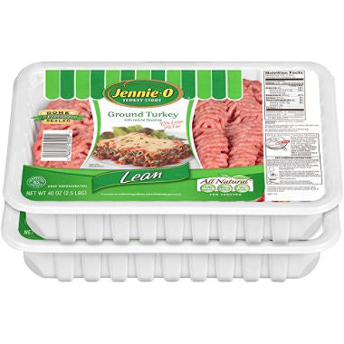 Jennie-O 2 pack Lean Ground Turkey (2.5 lb. trays)