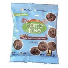 Cookies Home Free 6 pack Chocolate Chocolate Chip Mini 5 oz