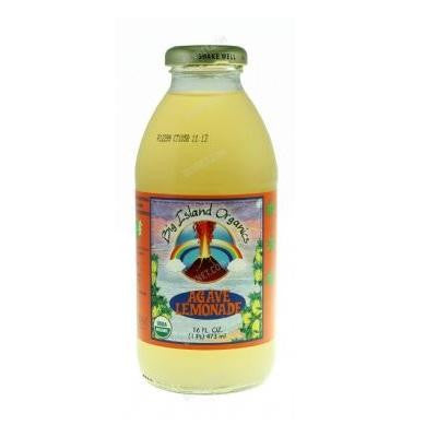 Big Island Organics 12 pack, Juice, Lemonade, Agave, Organic 16 oz