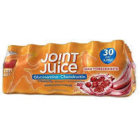 Joint Juice Supplement 30 pack case, Glucosamine and Chondroitin 8 oz bottles
