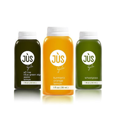 JUS by Julie, 12 pack,  Assorted Booster Shots, Made from only raw ingredients, these vitamin-rich juice booster shots will increase your energy, raise your immunity and help promote healing from within. 1 oz