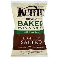 Chips Kettle 24 pack case Potato Lightly Salted 2 oz
