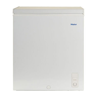 Haier 1 ct 5.0 Cu. Ft. Chest Freezer, Perfect for outdoor enthusiasts, families and people who buy in bulk, Compact chest freezer holds up to 175 lb. of food