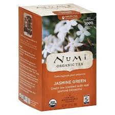Numi Tea 6 pack case 18 ct Green Jasmine Organic