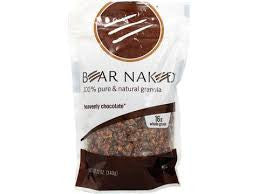 Bear Naked 6 pack case Granola Heavenly Chocolate 12 oz