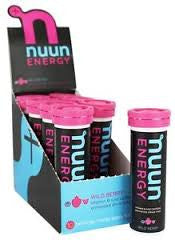 Nuun Active 8 pack Drink Tabs Energy Wild Berry 10 ea (80 tabs)