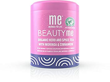 Me Moringa For Life, 6 pack, BEAUTYme, Organic Herb and Spice Tea With Moringa & Cinnamon, 3.5 oz
