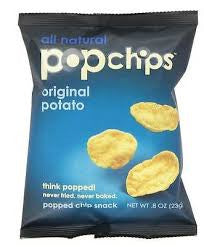 Chips Popchips 72 pack case Potato Original .8 oz