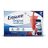 Ensure 24 pack Original Nutrition Shake, Strawberry 8 oz