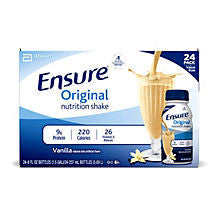 Ensure 24 pack Original Nutrition Shake, Vanilla 8 oz
